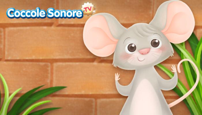 disegno topolino