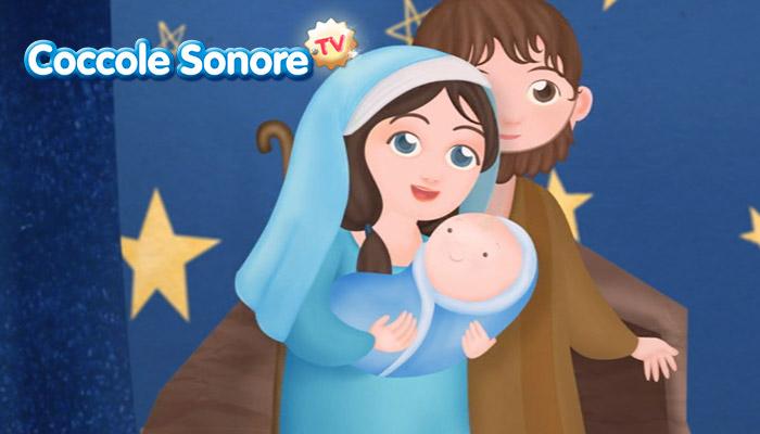 Disegno Maria Giuseppe e Gesù Bambino