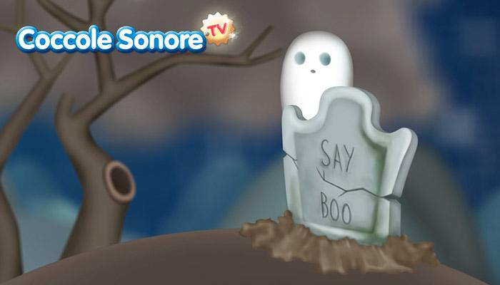 disegno fantasma sulla tomba