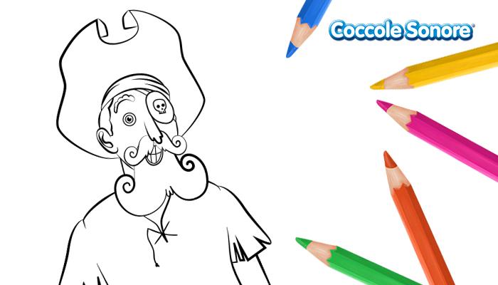 disegni da colorare pirata orbo