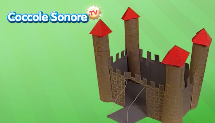 castello di carta, lavoretti per bambini, coccole sonore