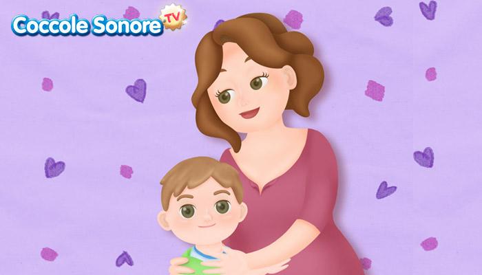Disegno mamma e bambino