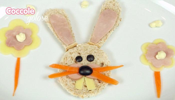 Cute food, coniglietto per merenda, ricette per bambini