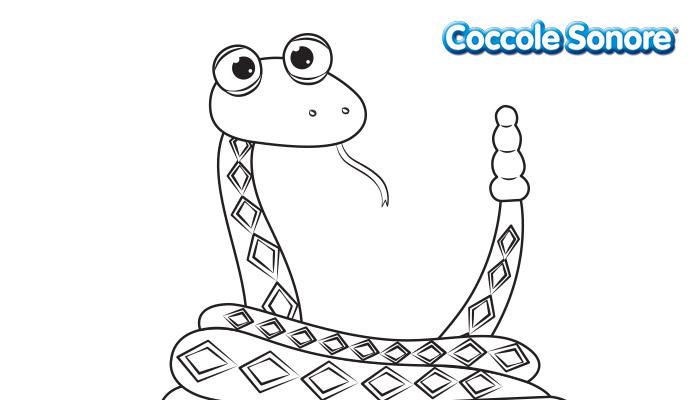 Serpente con coda a sonagli, Coccole Sonore