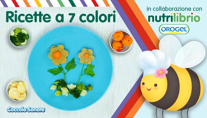 Frittelle di cavolfiore a forma di fiorellini, orogel, nutrilibrio, ricette a 7 colori
