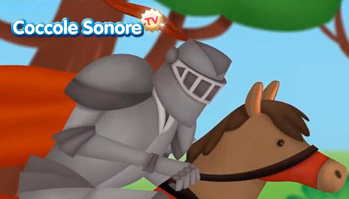 disegno cavaliere a cavallo