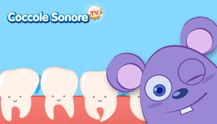 Disegno topolino e dentini
