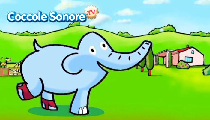 disegno elefante con le ghette