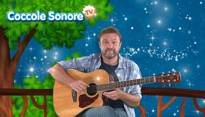 Stefano Fucili con chitarra