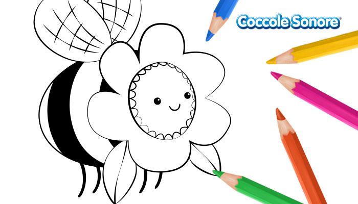 Ape mascherata, disegni da colorare carnevale, Coccole Sonore
