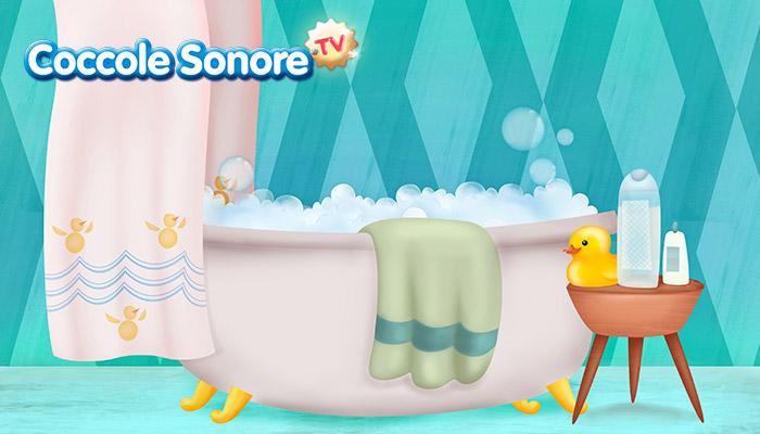 Disegno vasca da bagno
