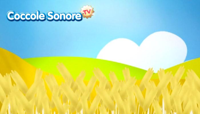 disegno campo di grano