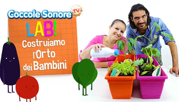 Alessandro Conte, Federica di Coccole Sonore, orto domestico, lavoretti per bambini
