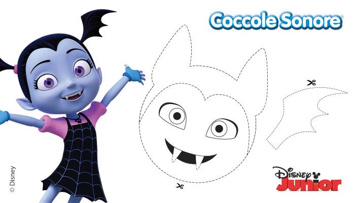 lavoretti halloween, vampirina, Disney. Coccole Sonore, decorazioni con palloncini, inviti