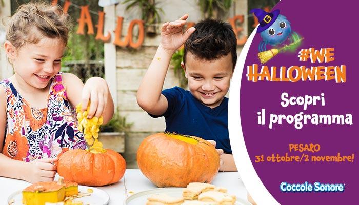 bambini che gioca con la zucca , wehallowee, Pesaro, Coccole Sonore