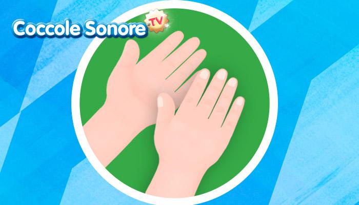 Disegno delle mani, Coccole Sonore