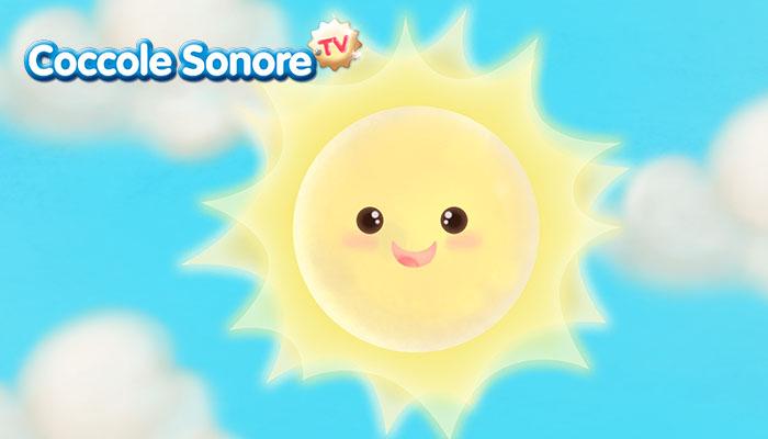 disegno del sole che sorride