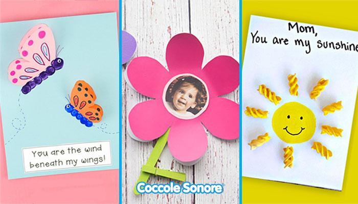 lavoretti festa della mamma scuola infanzia in carta