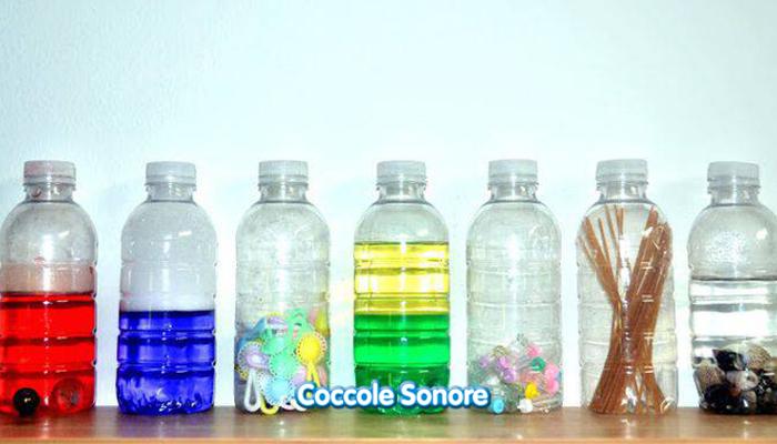 bottiglie sensoriali montessori