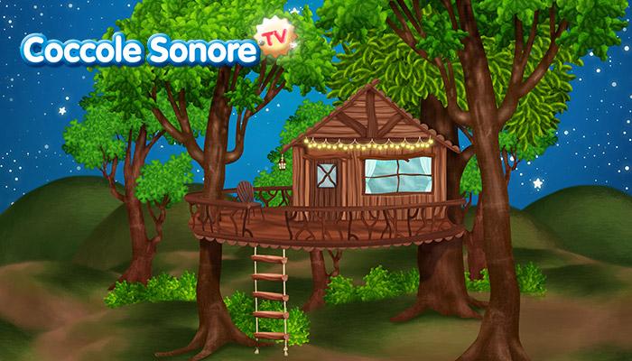 Casa sugli alberi, Coccole Sonore