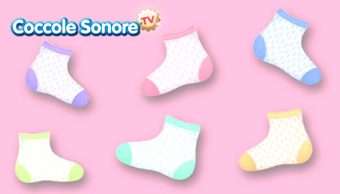 disegni di calzini tutti diversi per la giornata dei calzini spaiati